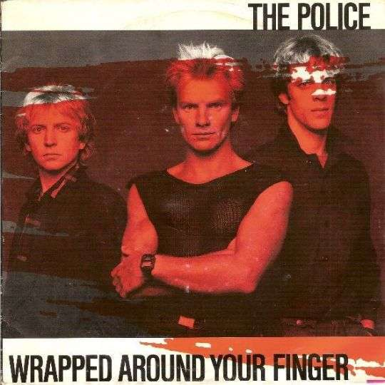 Coverafbeelding Wrapped Around Your Finger - The Police