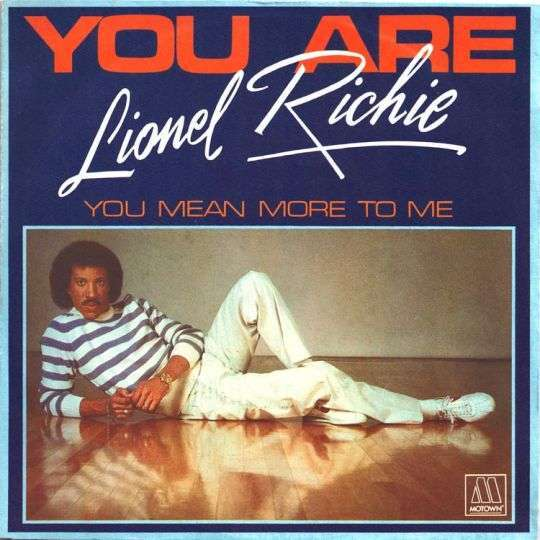 Coverafbeelding You Are - Lionel Richie