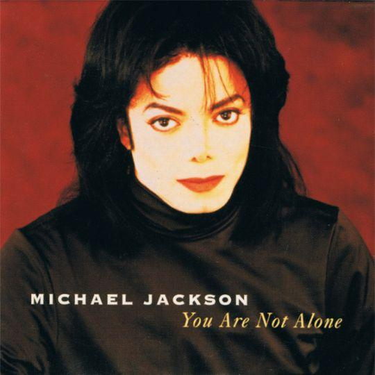 Coverafbeelding You Are Not Alone - Michael Jackson