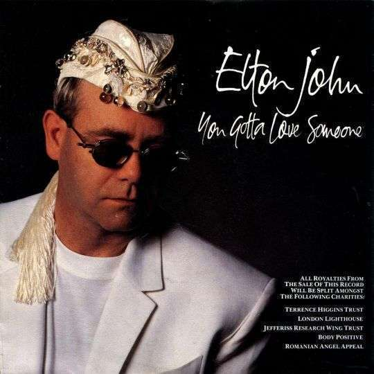Coverafbeelding You Gotta Love Someone - Elton John