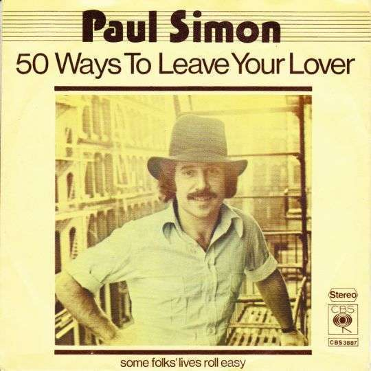 Coverafbeelding 50 Ways To Leave Your Lover - Paul Simon
