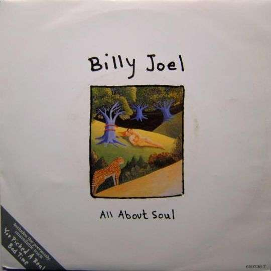 Coverafbeelding All About Soul - Billy Joel