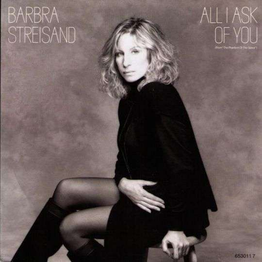 Coverafbeelding All I Ask Of You - Barbra Streisand