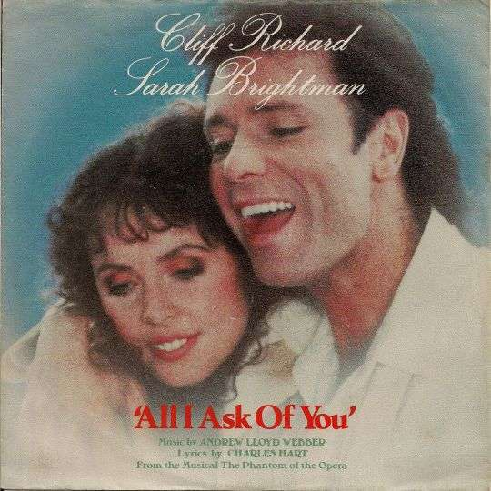 Coverafbeelding All I Ask Of You - Cliff Richard & Sarah Brightman