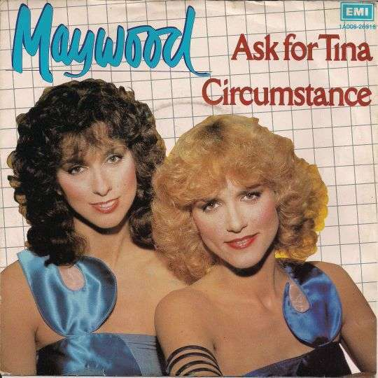 Coverafbeelding Ask For Tina - Maywood