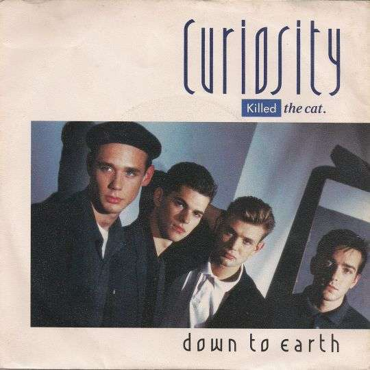 Coverafbeelding Curiosity Killed The Cat - Down To Earth