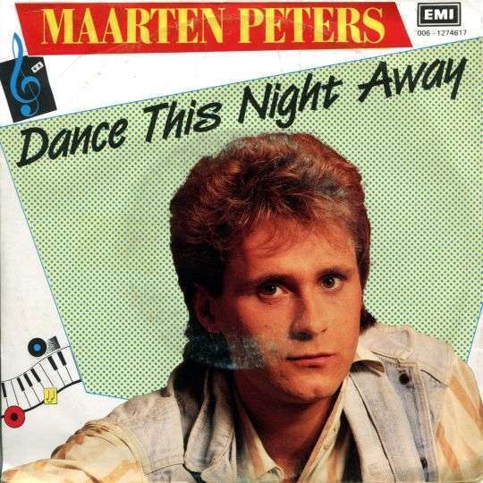 Coverafbeelding Dance This Night Away - Maarten Peters
