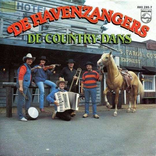 Coverafbeelding De Country-Dans - De Havenzangers