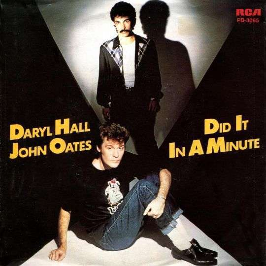 Coverafbeelding Did It In A Minute - Daryl Hall & John Oates