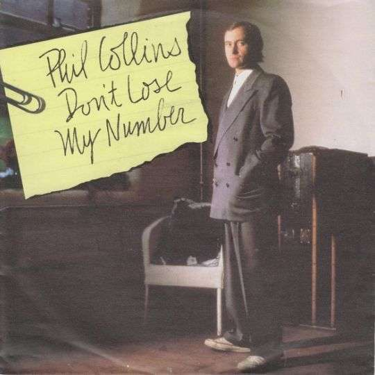 Coverafbeelding Don't Lose My Number - Phil Collins