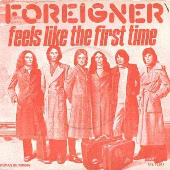 Coverafbeelding Feels Like The First Time - Foreigner