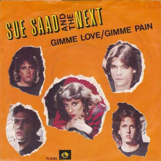Coverafbeelding Gimme Love/gimme Pain - Sue Saad And The Next