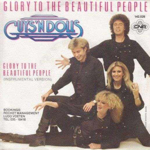 Coverafbeelding Glory To The Beautiful People - Guys 'n Dolls