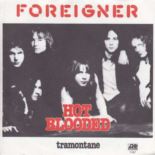 Coverafbeelding Hot Blooded - Foreigner