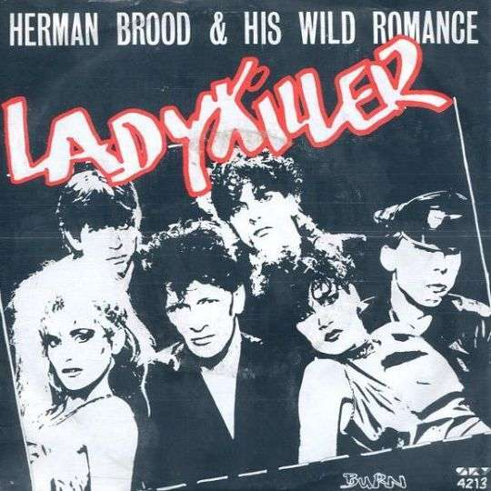 Coverafbeelding Ladykiller - Herman Brood & His Wild Romance