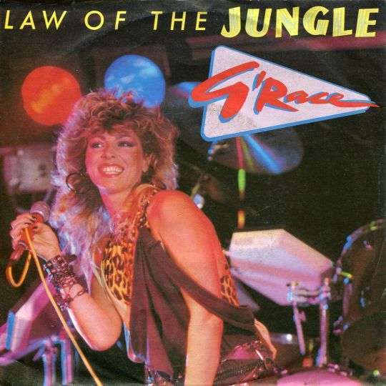 Coverafbeelding Law Of The Jungle - G'race