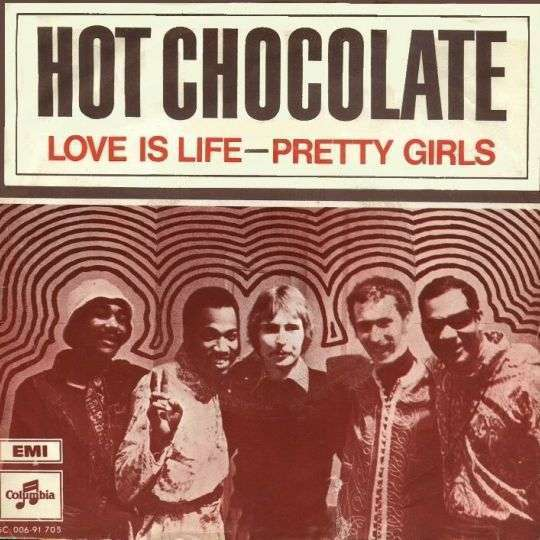 Coverafbeelding Love Is Life - Hot Chocolate