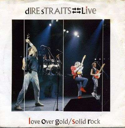 Coverafbeelding Love Over Gold - Live - Dire Straits