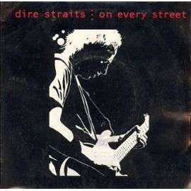 Coverafbeelding On Every Street - Dire Straits