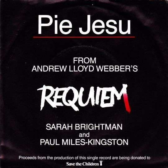 Coverafbeelding Pie Jesu - Sarah Brightman And Paul Miles-kingston