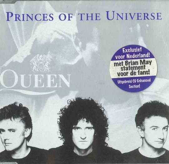 Coverafbeelding Princes Of The Universe - Queen