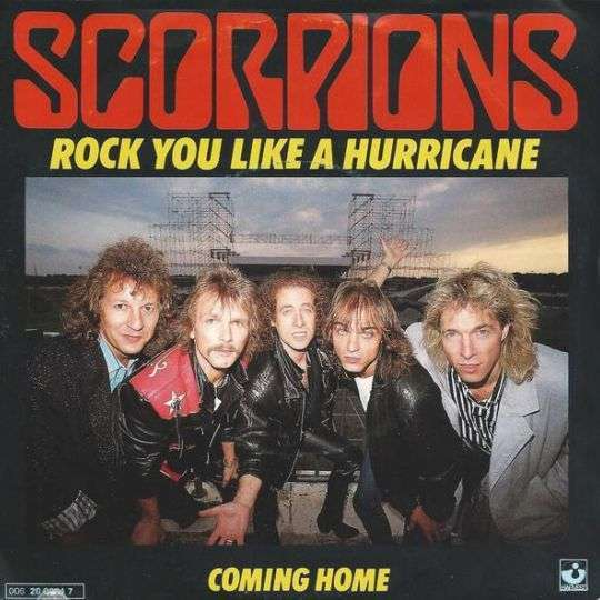 Coverafbeelding Rock You Like A Hurricane - Scorpions ((Deu))