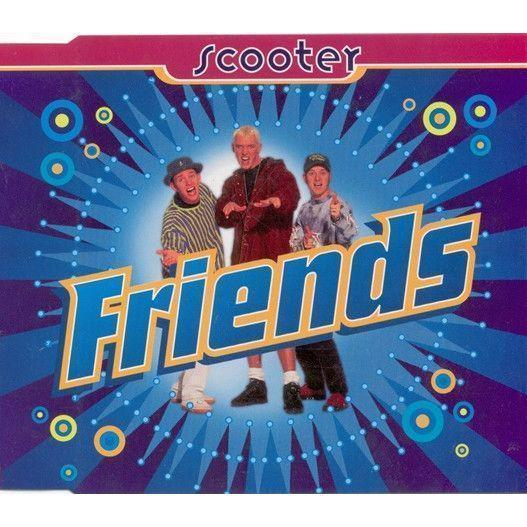 Coverafbeelding Friends - Scooter