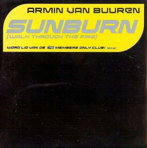 Coverafbeelding Sunburn (Walk Through The Fire) - Armin Van Buuren