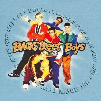 Coverafbeelding Get Down (You're The One For Me) - Backstreet Boys