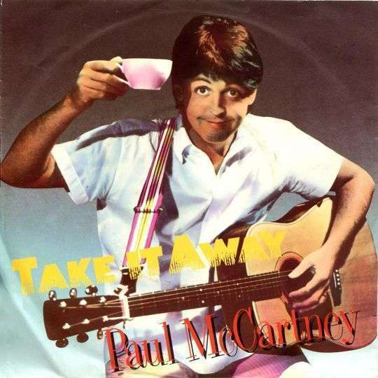 Coverafbeelding Take It Away - Paul Mccartney