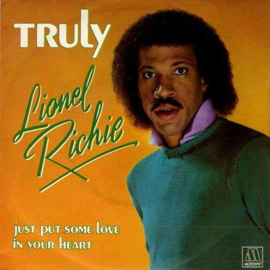Coverafbeelding Truly - Lionel Richie