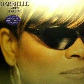 Coverafbeelding When A Woman - Gabrielle