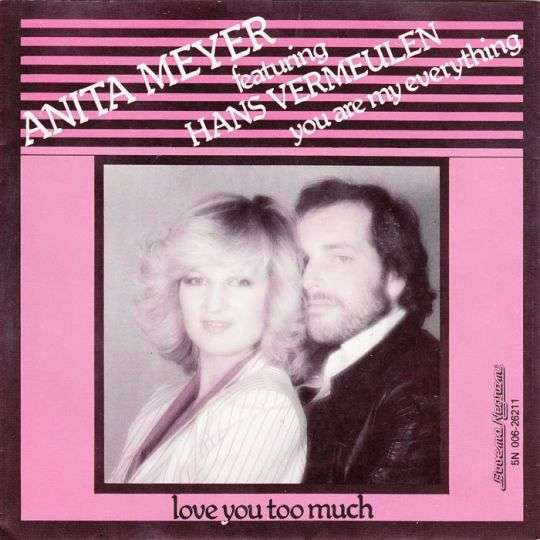Coverafbeelding You Are My Everything - Anita Meyer Featuring Hans Vermeulen