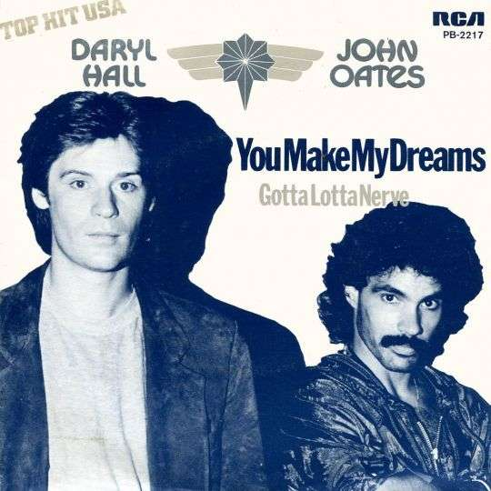 Coverafbeelding You Make My Dreams - Daryl Hall & John Oates