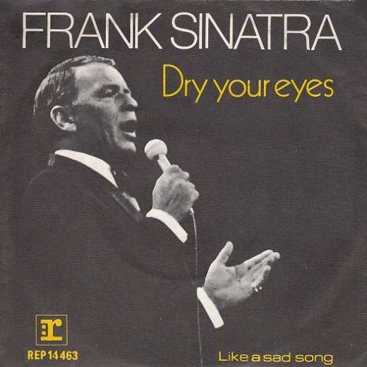 Coverafbeelding Dry Your Eyes - Frank Sinatra