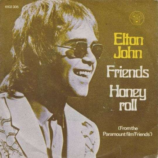 Coverafbeelding Friends - Elton John