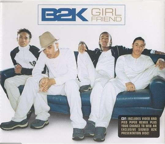 Coverafbeelding Girlfriend - B2K