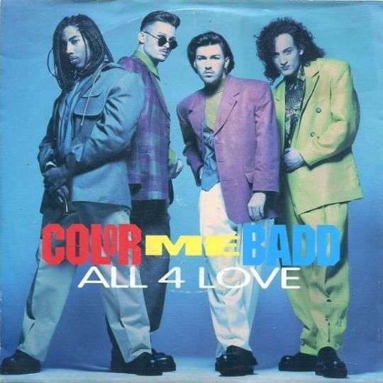 Coverafbeelding All 4 Love - Color Me Badd