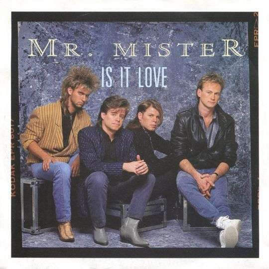Coverafbeelding Is It Love - Mr. Mister
