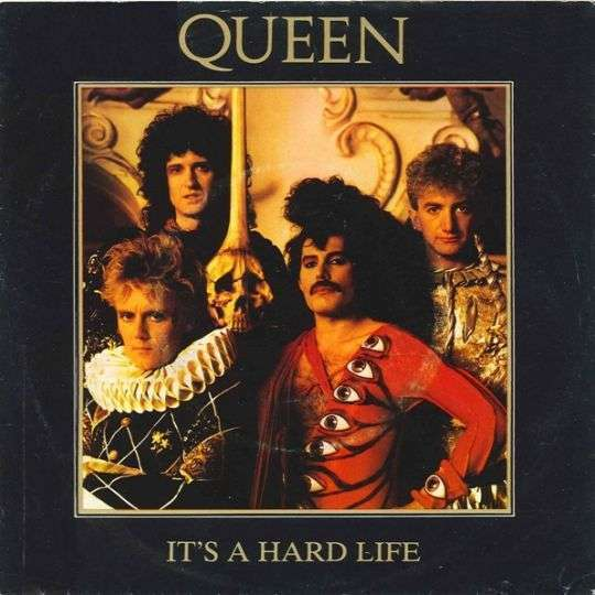 Coverafbeelding It's A Hard Life - Queen