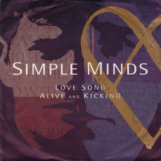 Coverafbeelding Love Song - Simple Minds
