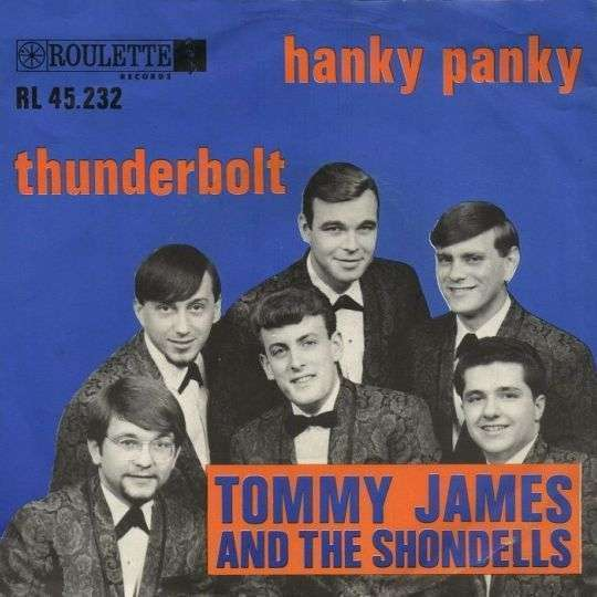 Coverafbeelding Tommy James and The Shondells - Hanky Panky