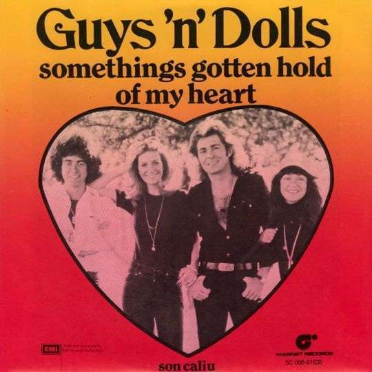 Coverafbeelding Somethings Gotten Hold Of My Heart - Guys 'n' Dolls