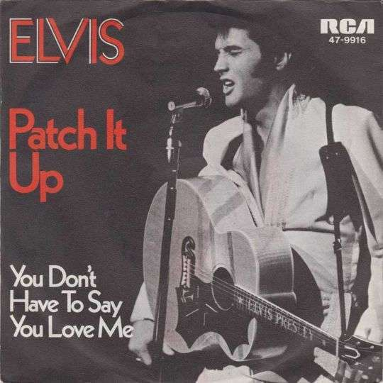 Coverafbeelding You Don't Have To Say You Love Me - Elvis