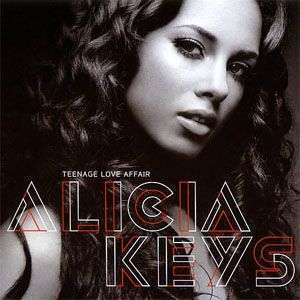 Coverafbeelding Teenage Love Affair - Alicia Keys