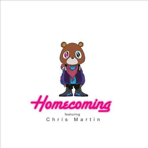 Coverafbeelding Kanye West featuring Chris Martin - homecoming