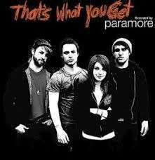 Coverafbeelding That's What You Get - Paramore