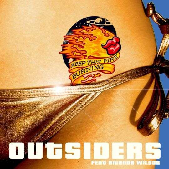 Coverafbeelding Outsiders feat Amanda Wilson - Keep this fire burning