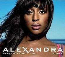 Coverafbeelding Start Without You - Alexandra Burke