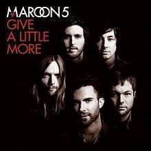 Coverafbeelding Give A Little More - Maroon 5
